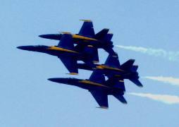 Blue Angels In Flight 1