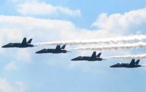 Blue Angels In Flight 2