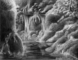 Waterfall White Pencil