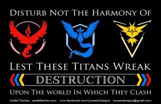 Pokemon GO Team Poster